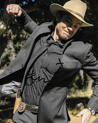 Timothy Olyphant Autographed 8x10 Photo (Reproduction)  6