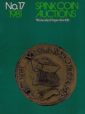 SPINK Auction 17 16th September 1981 World Gold & Silver coins