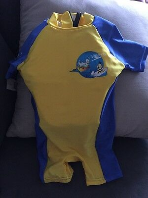 Children's Speedo Size M Yellow And Blue New With Tags
