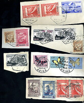 Assorted Stamps/Postmarks - Mozambique