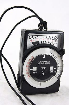 Vintage Leningrad 7 manual analogue light meter