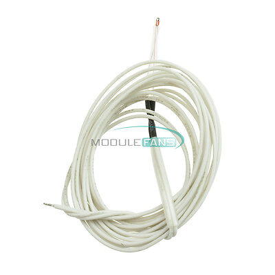 5PCS 100K ohm NTC 3950 1% Thermistor With Cable Finished for 3D Printer Reprap U