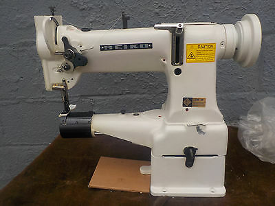 Industrial Sewing Machine Model Seiko CW- 8B walking foot ,cylinder- Leather