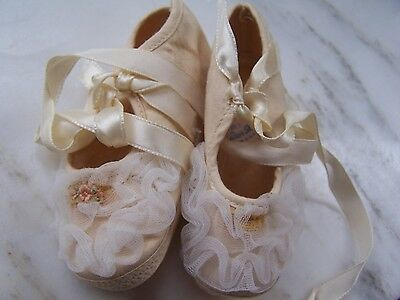 Collectible Vintage Baby Shoes - Baby Dear Shoes - Size 1 - USA - Sweet Find!