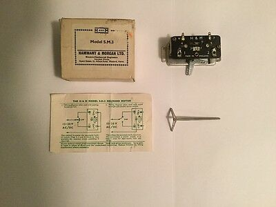 model railway H & M point motor solenoid 12 volt brand new. x2 included in price