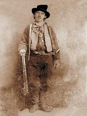 New 6 X 4 Photograph American Us Wild West Billy The Kid