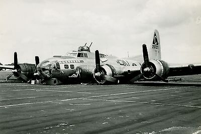 New 6 X 4 Photograph Ww2 Usaaf Mighty 8Th B 17 Flying Fortress 37