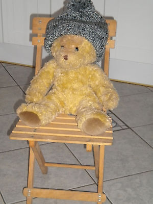 Display Chair For Collectors Doll Or Teddy Ideal Toy Shop Or Collector Display
