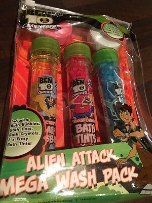Ben 10 Omniverse Alien Attack Mega Wash Pack For Children Age 3 years And Up