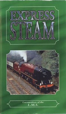 Express Steam Locomotives of the L.M.S. - Jeremy English VHS Video