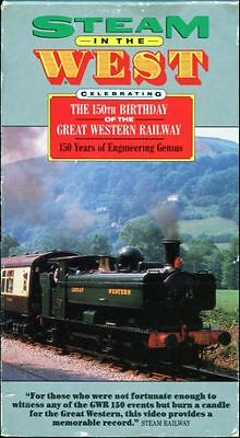 Steam In The West - Celebrating The 150th Birthday Of The G.W.R. - VHS Video