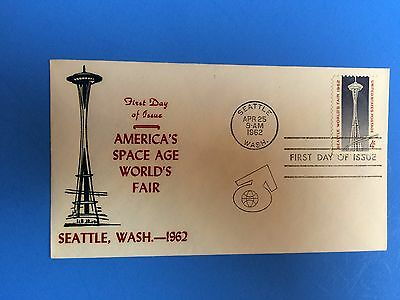 First Day Cover Seattle World's Fair 1962