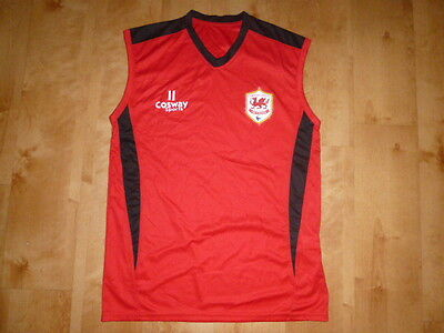 Lovely Sleeveless Cardiff City Sports Top Size Small
