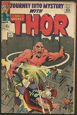 'journey Into Mystery Thor' #121 G Silver Age Marvel Comics 1965