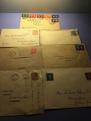 Old First Day Covers / Letters 1920's , 1930's and 1940's  - 1918 War Letter