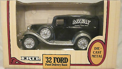 Ford Panel Delivery Bank 1932 (Agway Black & Silver)