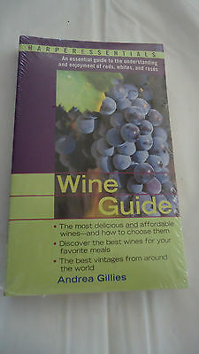 Wine Guide by Andrea Gillies - New/ Sealed-HARPER ESSENTIALS
