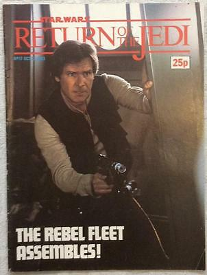 Return of The Jedi #17 (1983 Marvel UK) Good condition for age Bagged, boarded