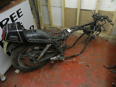 Gs850 1988 Frame With Swingarm / Drive / Rear Wheel/ Yokes Ect With  V5
