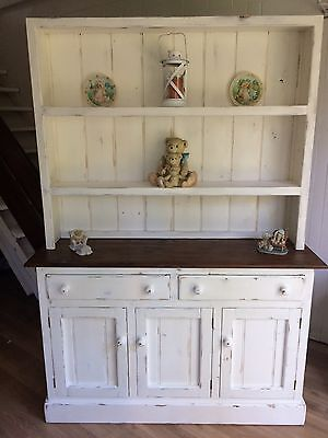 Revamped Shabby Chic Solid Timber Buffet And Hutch
