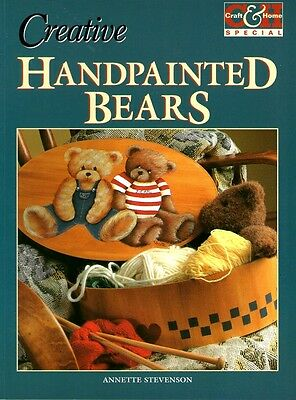Creative Handpainted Bears. Softcover..pattern Sheet Attached