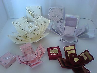 Card Craft Exploding Box Collection Template patterns on CD