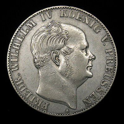 German States Prussia 1859-A Thaler Vereinsthaler silver coin KM# 471 Germany
