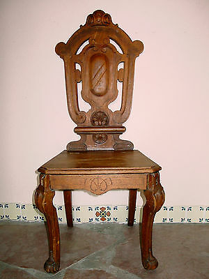Antique Hall Or Music Chair