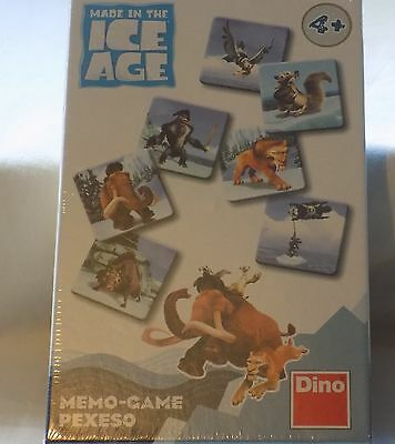 Ice Age Memo Card Game by Dino