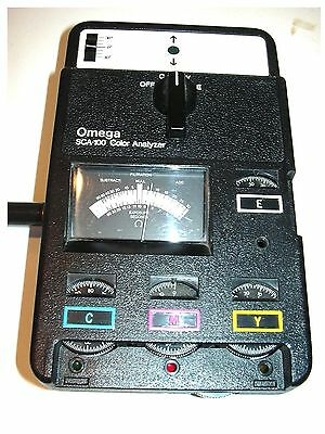 Omega SCA-100 Color Analyzer  Darkroom Photography