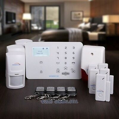HOMSECUR Wireless&wired WCDMA 3G Home House Alarm System with IOS/Android APP