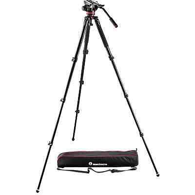 Manfrotto MVK502AQ Video Tripod Kit w/ MVH502AH Fluid Head