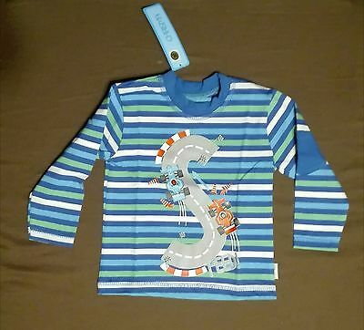 Baby Boy T-Shirt Racing Cars Long Sleeve 12-18 months BRAND NEW!