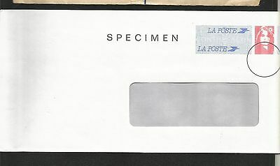 F215) France Spciman Postal Stationary With Window Marianne Issue 1990?