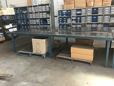 Industrial Stainless Steel Table