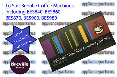 Breville Espresso Machine Cleaning Tablets BEC250 - for BES840 BES860 BES900