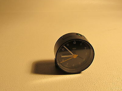 Vintage BRAUN 4748/AB5 alarm clock, made in Germany (ref 590)