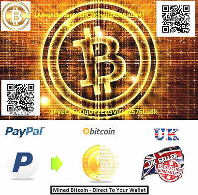 0.025 Bitcoin (BTC) Direct to your Wallet