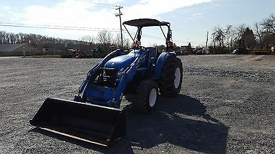 2007 New Holland TC55DA 4x4 Compact Tractor w/ Loader. Coming in Soon!