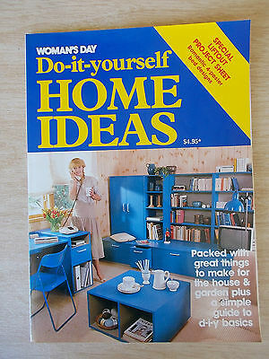 Woman's Day~DIY Home Ideas~Woodwork~Furniture~Beds~Storage~Cubby House~Shelves