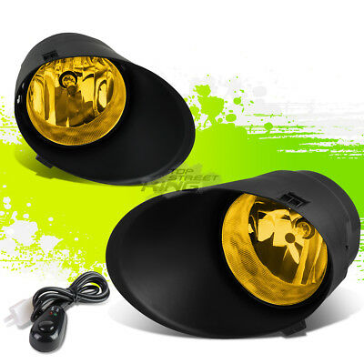 Yellow Clear Oe Fog Light/lamp Pair+Bezel Cover+Switch For 07-13 Toyota Tundra