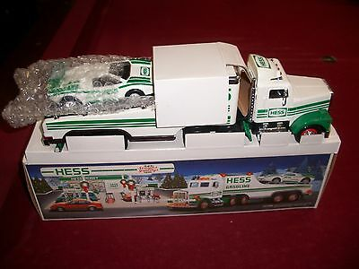 1991 HESS TOY TRUCK and RACER M.I.B.
