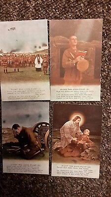 3 military song postcards , fight the good fight