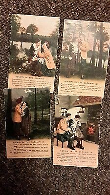3 military song postcards , roaming in the gloamin