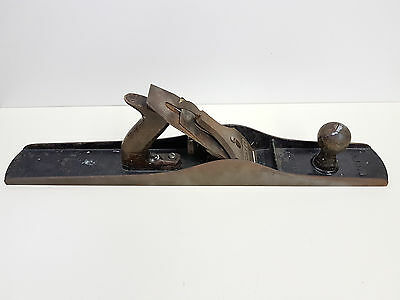 Vintage Stanley Bailey corrugated Jointer Plane No. 7 Made in Canada *READ*