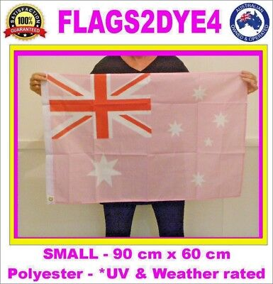 Australian flag pink Australia flag includes AUSTRALIA POST TRACKING