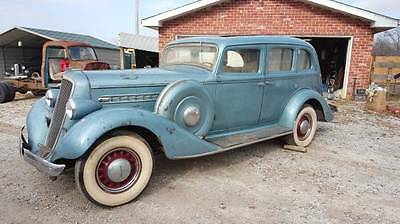 """1935 Other Makes  GRAHAM Supercharged straight 8 1935 """"Blue Streak"""", RARE! VIDEO L@@K"""