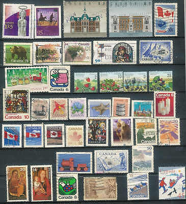Good Lot of  CANADA stamps over 40 NICE LOT A25