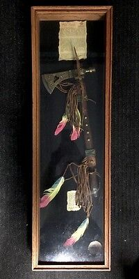 Authentic Lakota Pipe Tomahawk Limited Edition in Display Case