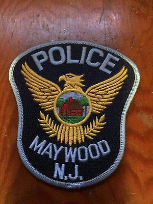 Maywood Police Bergen County New Jersey Shoulder Patch